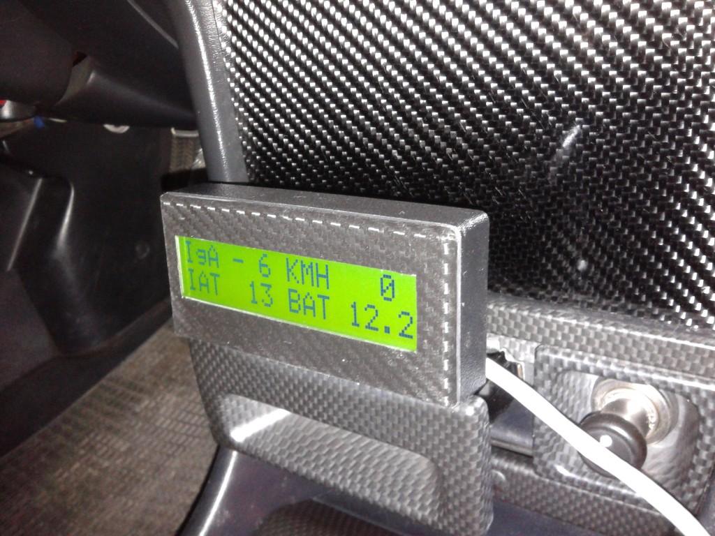 Unità di visualizzazione, display LCD retroilluminato